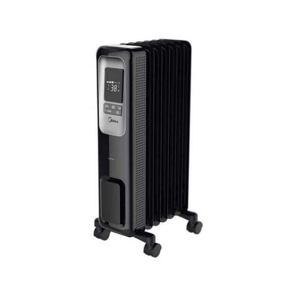 Pelonis 320 sq. ft. Electric Digital Oil Fill Radiator Portable Heater