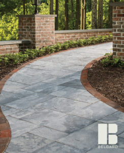 Two color walkway Pavers Belgard