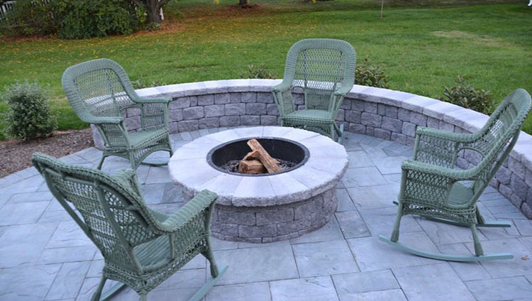 Cambridge wood burning firepit