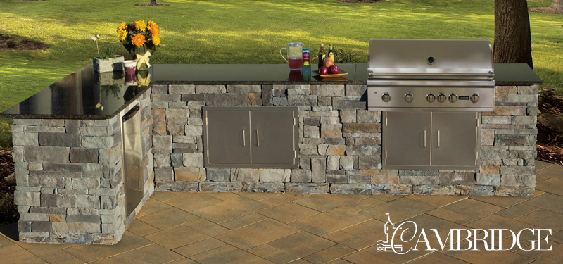 Camdridge outdoor kitchen